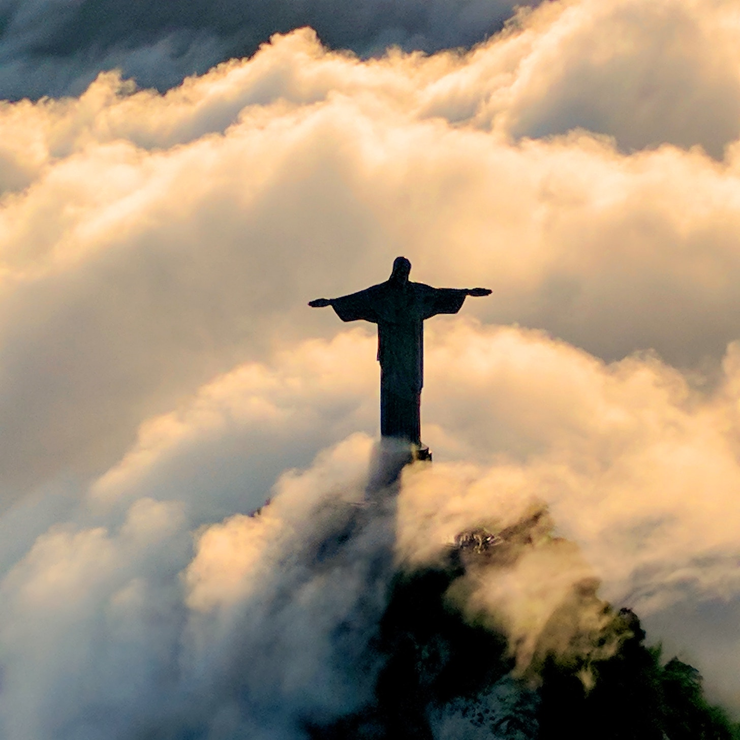 Christ the Redeemer' landmark, Rio de Janeiro in Brazil. Photo: Robert Nyman