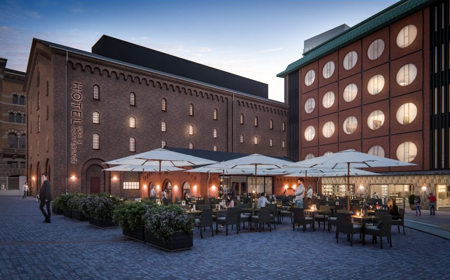 Hotel Ottilia, Brøchner Hotels, formerly Carlsbergbyen Breweries. Photo: Cadwalk