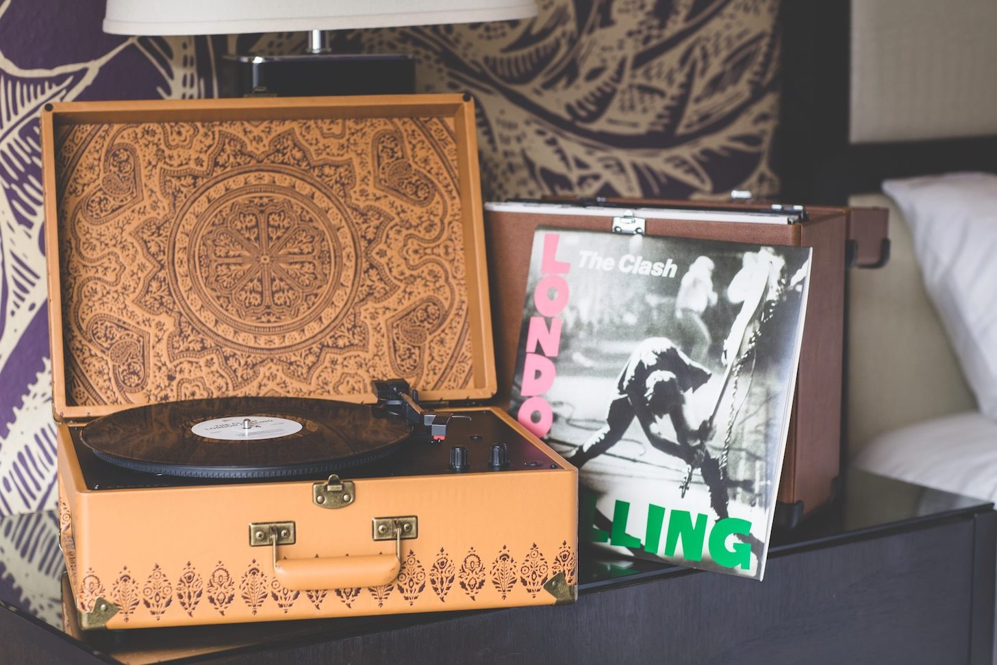 London Calling record player