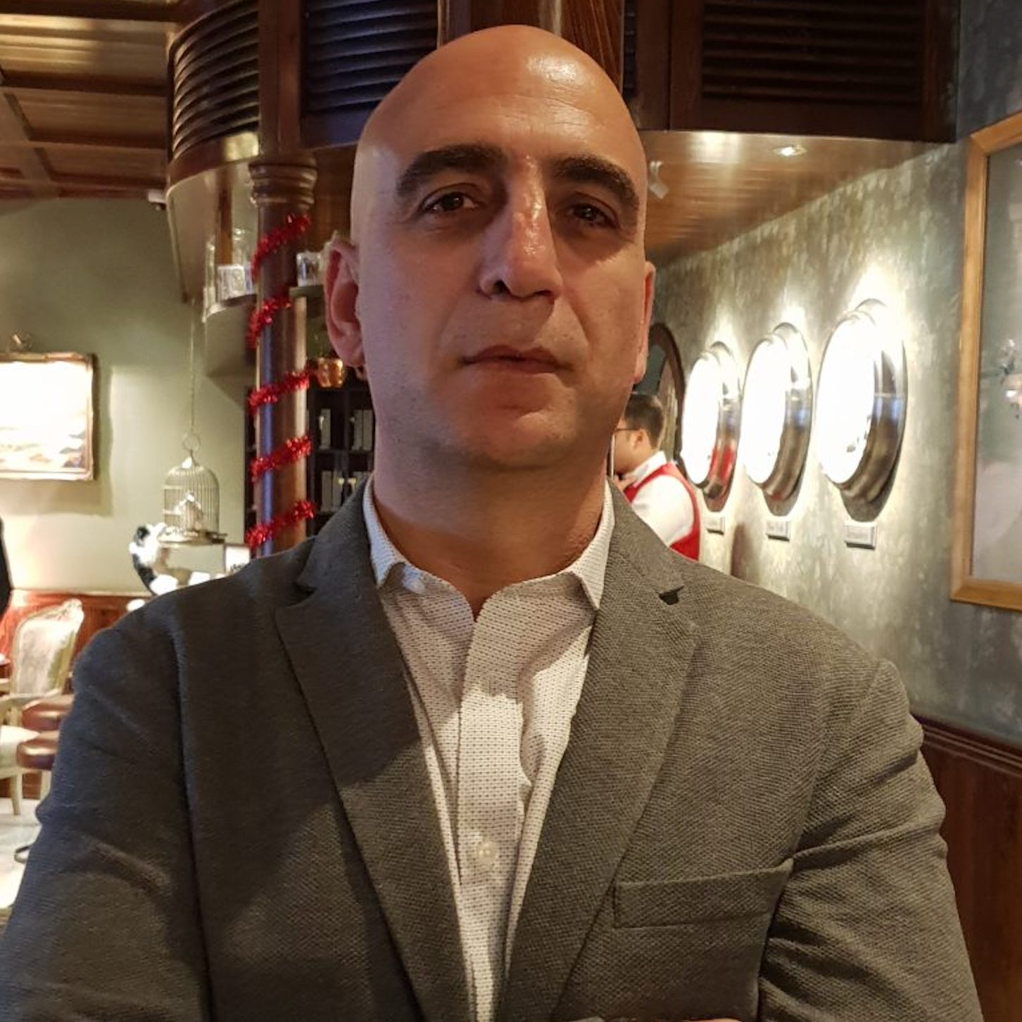 Wisam Salsaa, General Manager of The Walled Off Hotel