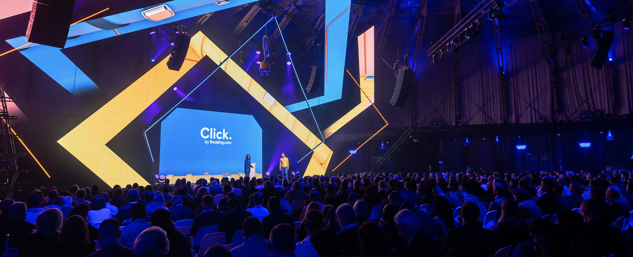 Main Stage, Click 2019 event, Amsterdam