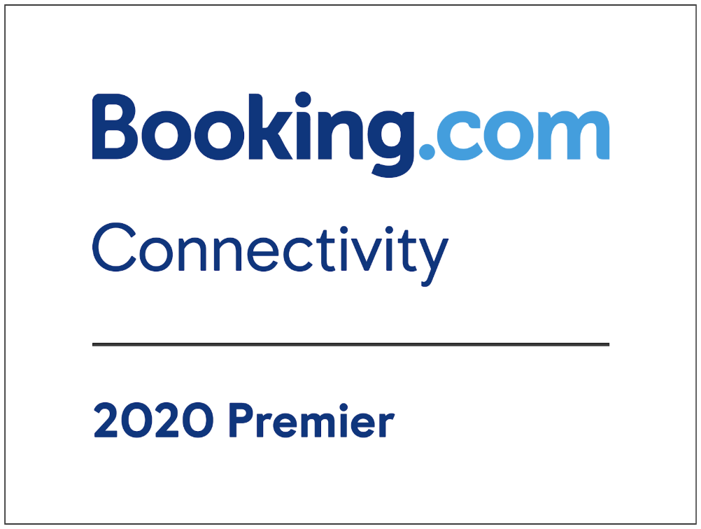 Premier Connectivity Provider badge, Booking.com, 2020