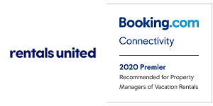 Rentals United +  badge attached