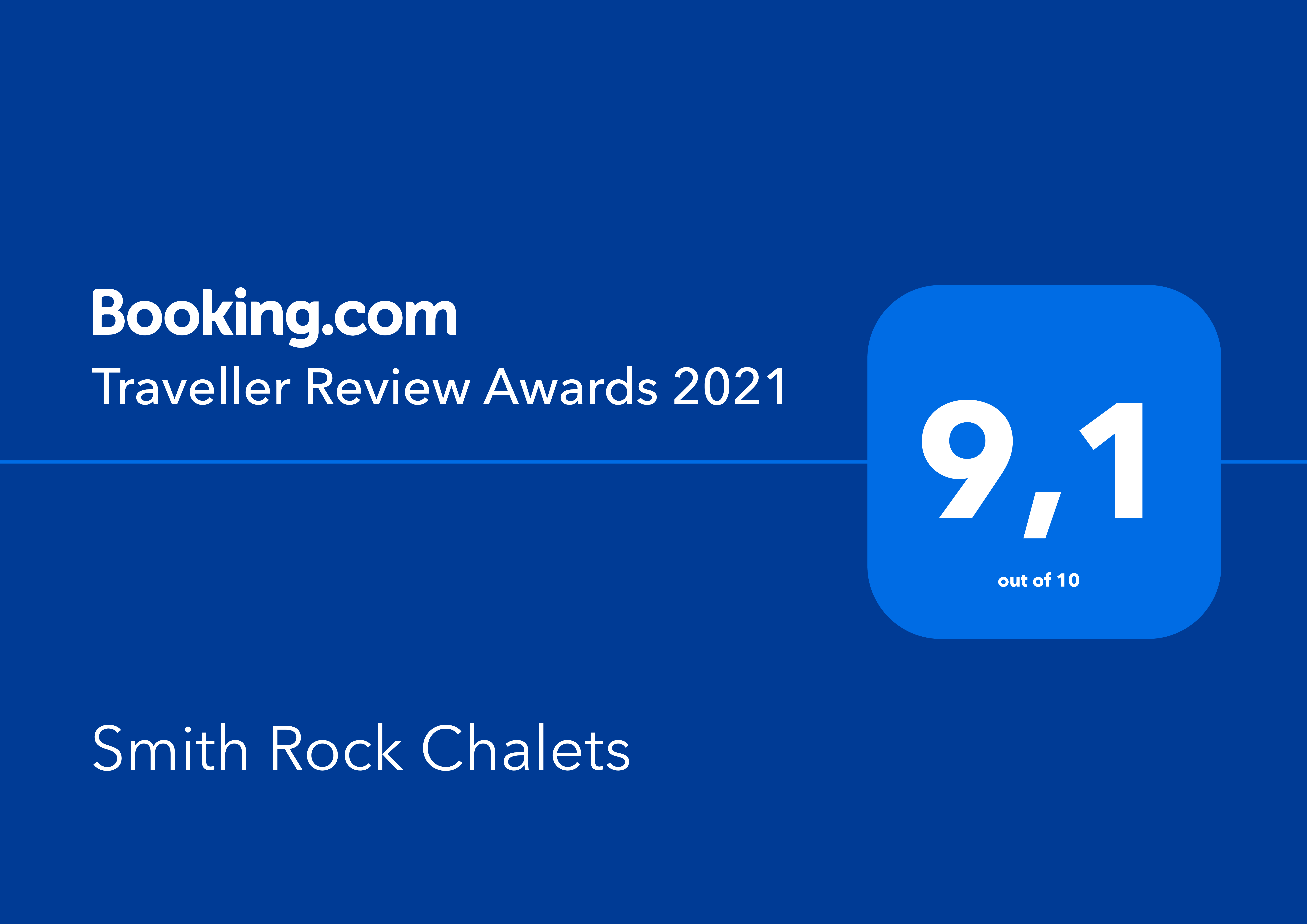 #TravellerReviewAwards2021