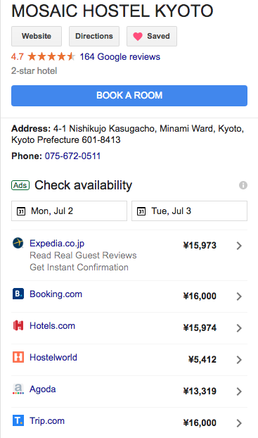 Geo-targeting and Price Performance   Booking com